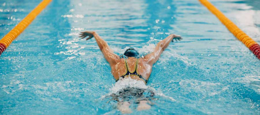 can I do swimming during shoulder impingement?