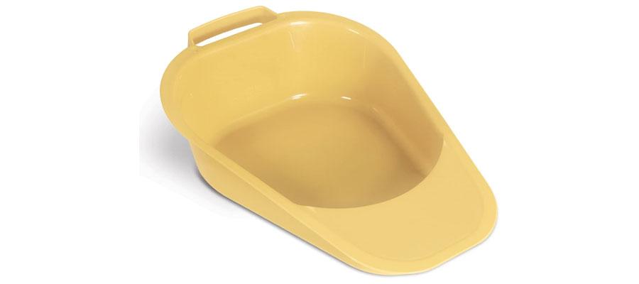 bed pan for fractured pelvis patients