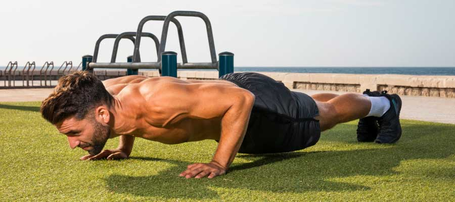 pushups during shoulder impingement